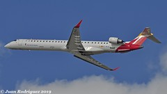 EC-MJQ - Air Nostrum  - Bombardier CRJ-1000 (CL-600-2E25) - PMI/LEPA