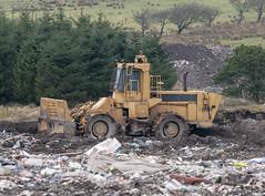 Caterpillar 816 Compactor (Scottish Photography Productions | David Pollock) Tags: caterpillar 816 compactor landfill recycling renfrewshire glasgow scotland neilston plant