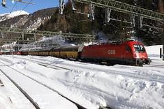 ÖBB 1216 013-3 ARS Altmann Autozug, Brennero (TaurusES64U4) Tags: öbb 1216 taurus es64u4
