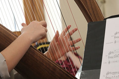 2 of Harps 1614 (Tony Withers photography) Tags: musicians harpists duo adel karina wilson music
