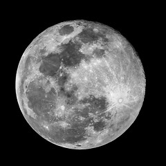 Super Snow Moon B&W 02-19-19 (smoop67) Tags: blue supersnowmoon2019 supermoon supersnowmoon vintageglass vintagelenses adaptedlenses adaptedglass nikkorlenses sonya6000 sonyalpha lunarphotography stackedimages photoshop