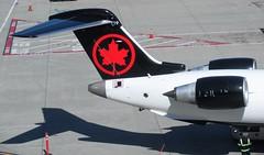 AC CRJ-900LR C-GJZS (kenjet) Tags: express ac aircanada aircanadaexpress jazz jazzair plane jet flugzeug canadair bombardier crj cr9 crj900 crj900lr cgjzs lr gate sf sfo ksfo airport sanfranciscointernationalairport tail leaf logo mapleleaf