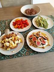 Dinner (thedomestic234) Tags: tomatoes figs rachelrivera 2017 washington dinner seattle jpeg table
