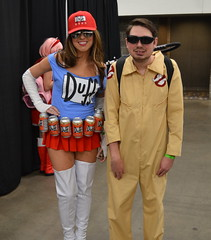 """Wizard World Madison 2018 (Vinny Gragg) Tags: costume costumes cosplay prettygirls prettywoman sexywoman girl girls woman """"madisonwisconsin"""" madison wisconsin superheroes superhero comics comicbooks comicbook villian villians supervillian supervillians wizardworldcomiccon wizardworld comiccon chicagocomiccon comiccon2018 wizardworldcomiccon2018 rosemontillinois rosemont illinois alcohol liquor booze beer beers beercan beercans ghostbuster ghostbusters duffgirl duffman duffbeer thesimpsons simpsons"""