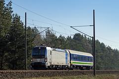 Boizenburg Railpool 193 827-3 Ueberfuehrung HHlan BTE (Wolfgang Schrade) Tags: vectron railpool br193 1938273 heros bte hamburglangenfelde kbs100 boizenburg überführungsfahrt zug eisenbahn