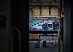 Resolving A Thirst (whosoever2) Tags: uk united kingdom gb great britain england sony dscrx100m3 train railway railroad march 2019 york station yorkshire drs tpe transpennine class68 68022 resolution