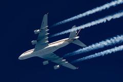 Singapore Airlines A380-841 9V-SKR (Thames Air) Tags: singapore airlines a380841 9vskr contrails contrailspotting