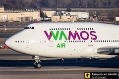 Boeing B747 Wamos Air EC-KSM (Ana & Juan) Tags: airplane airplanes aircraft airport aviation aviones aviación barajas boeing 747 b747 wamos wamosair taxiing madrid mad madridbarajas lemd spotting spotters spotter planes canon closeup