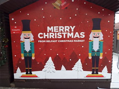 Belfast Christmas Market and Festivities December 2018 (sean and nina) Tags: belfast northern ireland north eire irish uk united kingdom market festive season seasonal december 2018 winter outdoor outside stalls sale merchandise items people persons candid city centre trade traders food tourism tourists international entertainment street public toys clothes christmas