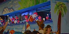 Fun in the Sun - Morpheus Riders (BKHagar *Kim*) Tags: bkhagar mardigras neworleans la parade kreweofmorpheus napoleon uptown night riders pink hair palmtree float
