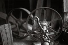 In the shed (Geir Bakken) Tags: vintage shed metal blackandwhite yashica yashicaministeriii kodak kodaktmax100 fx39 moody perfectbeauty ilovefilm film filmisnotdead filmphotography analog analogue analogphotography