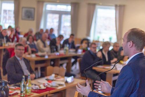 Auf dem Parteitag der SPD Ammerland habe ich besonders den Kampf gegen rechts angemahnt.