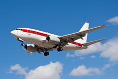 Private (EG&G) Boeing 737-600 N273RH (jbp274) Tags: airport airplanes las klas mccarran boeing 737 janet