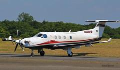 Pilatus PC 12/45 n° 609 ~ N209PB (Aero.passion DBC-1) Tags: spotting la baule dbc1 david biscove aeropassion avion aircraft aviation plane pilatus pc12 ~ n209pb
