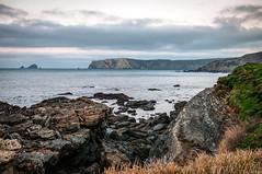 El cabo Peñas (ccc.39) Tags: asturias verdicio gozón cabo peñas atardecer mar cantábrico costa sunset shore coast sea seascape