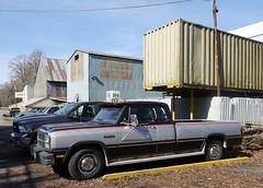 Dodge Ram 250 Cummins turbo Diesel pickup truck (D70) Tags: ram 250 cummins turbo diesel pickup truck luluisland richmond britishcolumbia canada dodge firstgeneration 1981–1993 dw clubcab