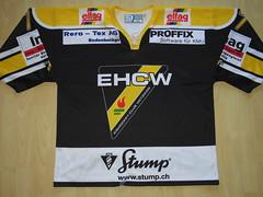 EHC Wetzikon 2014 - 2015 home Game Worn Jersey (kirusgamewornjerseys) Tags: 1 liga game worn jersey ice hockey switzerland eishockey diego ardizzone ehc wetzikon ehcwetzikon diegoardizzone