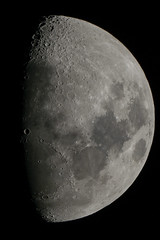DSC_4008 (kirill.jankowsky) Tags: iso800 oneshot 2000mm celestron c8 d800 moon halfmoon lunar penumbra astronomy nexstar 8se telescope sct