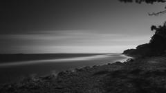 Hornbæk Plantage (Siaitch) Tags: blackandwhite bw ocean sea øresund hav hornbæk zealand sjælland leefilter 15 superstopper 15stop lee filter