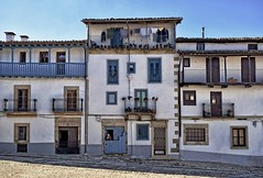 Watching the world go by (Jocelyn777) Tags: doorsandwindows facades streets buildings architecture architecturaldecor villages towns historictowns candelario spain travel