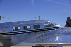 Travis AFB Airshow 2019 1954 Beech D18S N3532B _03 (Walt Barnes) Tags: canon eos 60d eos60d canoneos60d wdbones99 airfield airstrip aerodome aeronautics aerodynamics flight afb airforcebase airshow display travis travisafb calif ca beechcraftmodel18 beech d18s