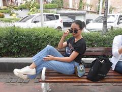 DSCN8893 (Avisheena) Tags: avisheena model world outfit hello jeans white black outdoor photograph