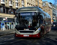 BT14 DJX (Travis Pictures) Tags: bus buses edinburgh transportforedinburgh lothian lothianbuses princesstreet city citycentre transport publictransport scotland britain uk nikon d5200 photoshop outdoors outside sunny scania singledeck