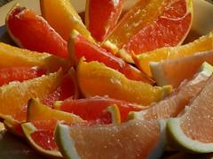 Dooryard citrus (alansurfin) Tags: citrus fruit citrusparadisi pink grapefruit navel orange navelorange naranjas arance arancione homegrown florida frutta