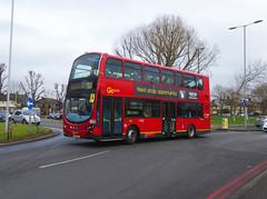 GAL WVL284 - LX59CZA - NSF - ELTHAM GREEN - SAT 19TH JAN 2019 (Bexleybus) Tags: go ahead goahead london eltham green yorkshire grey roundabout south circular se9 tfl route 321 wrightbus gemini volvo b9 wvl284 lx59cza