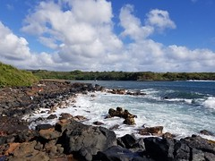 Cove & Beach East of Glass Beach (jtbradford) Tags: kauai hawaii