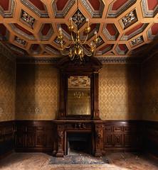 (Alexandre Katuszynski) Tags: urbex urbanexploration ue urbexfrance castle abandonedcastle luoghiabbandonati verlassen forgotten decay ceiling