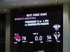 Final Score - Roanoke 78, Lynchburg 56 (dougmartin571) Tags: roanokecollege lynchburghornets roanokemaroons maroonsathletics basketball americasgottalent agt zuzuacrobats maroonathletics roanokecollegeathletics