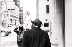 Mr. Fedora (Eddie K. Photo) Tags: new york city manhattan street photograpy