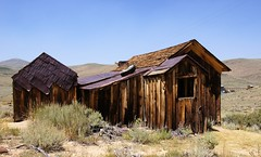 Once Upon A Time In The West (nedlugr) Tags: california ca usa bodie bodiestatehistoricpark ghosttown ruraldecay ruralwest rust rustic sagebrush monocounty weatheredwood weathered smokyskies