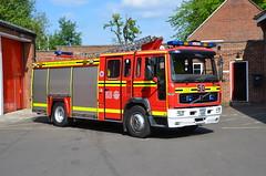 HV52 XOB (Emergency_Vehicles) Tags: hv52xob hampshire fire rescue brockenhurst