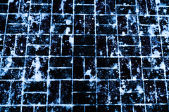 White snow on the black tiles (Filmostar Media) Tags: black snow white city winter park mosaic patterns season steps tiles united usa abstract background close closeup construction detail material nature pattern