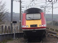 43208 leaves Berwick-upon-Tweed (13/2/19) (*ECMLexpress*) Tags: lner london north eastern railway hst intercity 125 43208 43315 berwick upon tweed ecml