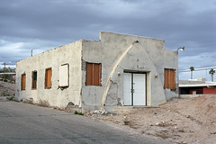 Busted church (ADMurr) Tags: california desert town twentynine palms empty church gothic arch dac896