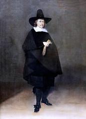 IMG_5663 Gérard Ter Borch. 1617-1681. Münster Amsterdam  Jan Roever, maire de Deventer Jan Roever, Mayor of Deventer. 1661.    Hambourg Kunsthalle. (jean louis mazieres) Tags: peintres peintures painting musée museum museo deutschland germany allemagne hamburg kunsthalle