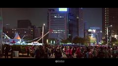 2019-0218_001 (solarliu) Tags: lantern festival light lighting installation art square people taiwan taipei taiwanese night silhouette 燈會 元宵 裝置藝術 燈光 台北 街道 人潮 street