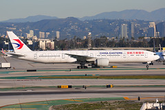 China Eastern Boeing 777-39P(ER) B-7347 (Mark Harris photography) Tags: spotting lax la canon 5d plane aviation boeing
