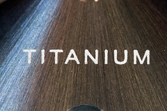 Titanium timepiece (Ghazghul) Tags: timepieces macromondays macromonday watch face titanium macro sigma105mmf28exdg nikon d300s 105mmf28exdg