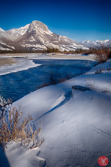 Roadtrip 10 (Kasia Sokulska (KasiaBasic)) Tags: canada alberta winter rockies travel mountains nature jasper np landscape