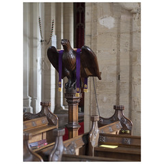 Lectern (badger_beard) Tags: st mary magdalene church ickleton parish cambs cambridge cambridgeshire south england cofe
