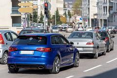 Audi RS3 (Alexandre Prévot) Tags: voiture european cars automotive automobile exotics exotic supercars supercar worldcars nancy lorraine france 54 54000 auto car berline sport route transport déplacement parking luxe grandestsupercars ges meurtheetmoselle