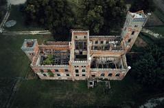 HL (Łukasz Małkiewicz) Tags: abandoned forgotten urbex decay creepy palace manor mansion haunted house dji aerial