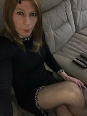 (Sasskia1tranny) Tags: mtf ladyboy tights sissy shemale tranny