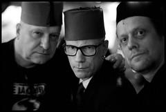Fez men (Micke Borg) Tags: xtol kodak 640 hp5 ilford 11 50mm 7artisans m4 leica brödernaolsson garlicshots folkungagatan södermalm söder sverige sweden stockholm
