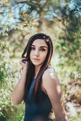 Julie (*KIKITA*) Tags: greaterlosangeles griffithpark losangeles losangelesportraitphotograph southbayphotographer erickagiulianiphotography fashion model nikond750 outdoorportrait portraitphotographer losangelesportraitphotographer naturallight bluedress longhair brunette