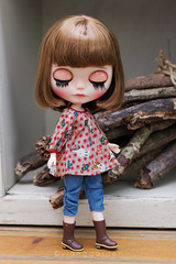 Vintage Styles (Ylang Garden) Tags: blythe momoko pant top vintage